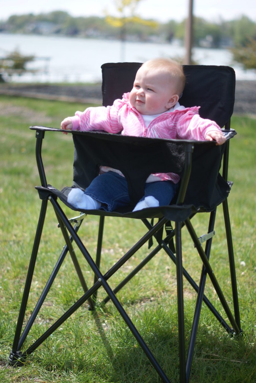 ciao! baby black chair